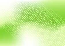 Grünen Sie punktierten Hintergrund Lizenzfreie Stockfotos