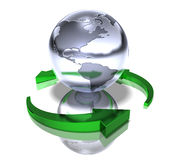 Grünen Sie Welt vektor abbildung