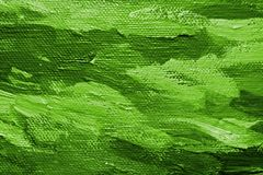 Grüner Ölfarbehintergrund Stockfotografie