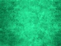 Grüner abstrakter gemalter Hintergrund Stockfoto