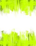 Grüner abstrakter grunge Hintergrund. Vektorschablone Stockfotografie