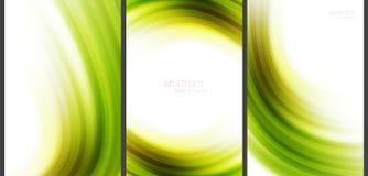 Grüner abstrakter Hightechhintergrund Stock Abbildung