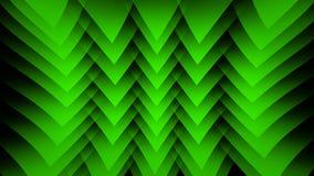 Grüner abstrakter Hintergrund auf dem schwarzen Streifen Lizenzfreies Stockbild