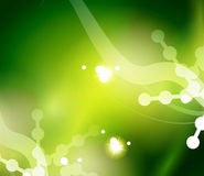 Grüner abstrakter Hintergrund des Feiertags, Winter stock abbildung