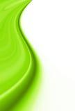Grüne Kurven des Frühlinges Stockbilder