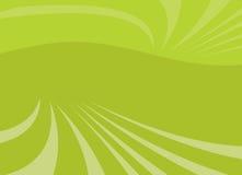 Grüner abstrakter Vektor Lizenzfreie Stockfotografie