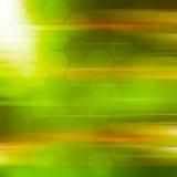 Grüner Abstraktionshintergrund Stockbilder
