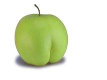 Grüner Apfel Stockfotografie