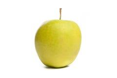 Grüner Apfel. Getrennt auf Weiß. Lizenzfreies Stockbild