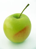 Grüner Apfel stellt passendes für das Verpacken dar Lizenzfreies Stockbild