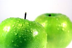 Grüner Apple 6 Stockfotografie
