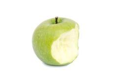 Grüner Apple getrennt auf Weiß Stockbild