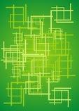 Grüner Auszug lizenzfreie abbildung