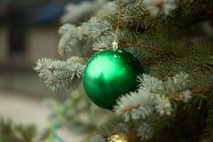 Grüner Ball Stockbild