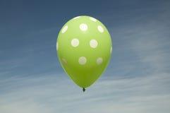 Grüner Ballon Stockfotografie