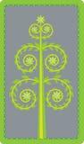 Grüner Blattbaum   Vektor Abbildung