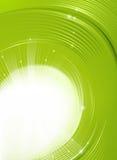 Grüner Blendenverschluß Stockfotos