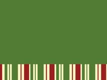 Grüner Block mit Weihnachtsstreifen Stockbild