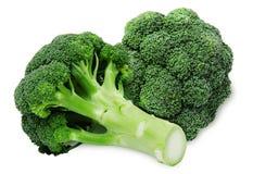 Grüner Brokkoli frische zwei Stockfotos