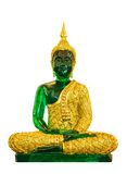 Grüner Buddha Lizenzfreies Stockfoto