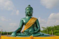 Grüner Buddha, Thailand lizenzfreie stockfotografie
