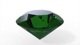 Grüner Diamant Stockfoto