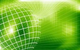 Grüner digitaler Hintergrund lizenzfreie abbildung