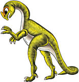Grüner Dinosaurier Stockfoto
