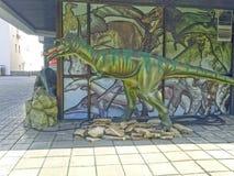 Grüner Dinosaurier Lizenzfreies Stockbild