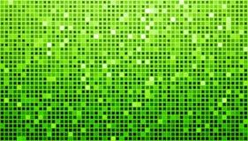 Grüner Disco-Matrix-Hintergrund Stockfotografie