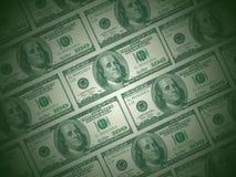 Grüner Dollar Lizenzfreies Stockfoto