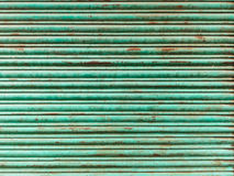 Grüner eiserner Vorhang Lizenzfreies Stockbild