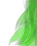 Grüner Flammehintergrund Lizenzfreies Stockbild