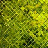 Grüner Fliesehintergrund. Stockbild