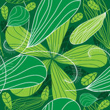 Grüner Frühlingsblumenhintergrund. Lizenzfreies Stockbild