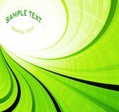Grüner Frühlingszusammenfassungshintergrund Lizenzfreies Stockfoto