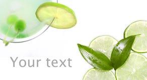 Grüner frischer Kalk stockfotos