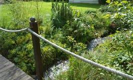 Grüner Garten Lizenzfreie Stockbilder