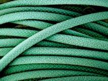 Grüner Gartenschlauch Lizenzfreies Stockbild