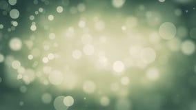 Grüner gelber neues Jahr Loopable-Hintergrund stock video footage