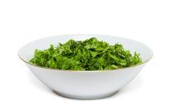 Grüner Gemüsesalat. Lizenzfreie Stockfotografie