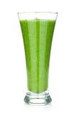 Grüner Gemüsesmoothie lizenzfreie stockfotografie