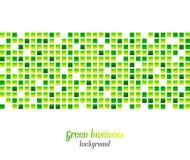 Grüner Geschäftszusammenfassungshintergrund Stockbilder