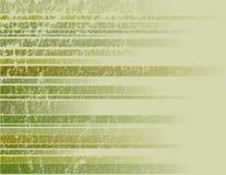 Grüner gestreifter Grunge Hintergrund Lizenzfreie Stockfotografie
