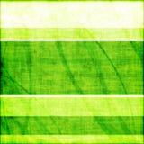 Grüner gestreifter Grunge Hintergrund Lizenzfreie Stockfotos