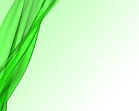 Grüner Gewebehintergrund lizenzfreie abbildung