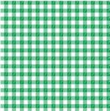 Grüner Gingham stock abbildung