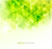 Grüner glänzender technischer Hintergrund Vektor Lizenzfreies Stockbild