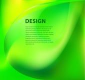 Grüner glatter Hintergrund lizenzfreie abbildung