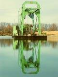 Grüner Gräber Stockfoto